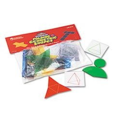 Overhead Folding Geometric Shapes, for Grades 2 and Up
