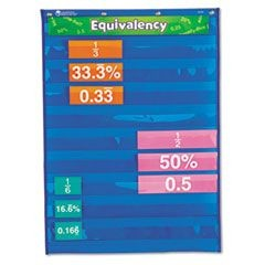 Equivalency Pocket Chart, 20 x 27