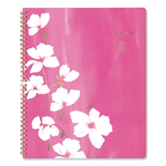 Sorbet Weekly/Monthly Planner, 11 x 8.5, Pink/White, 2021