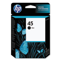 HP 45, (51645A) Black Original Ink Cartridge