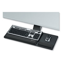 Designer Suites Compact Keyboard Tray, 19w x 9.5d, Black