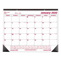 Monthly Deskpad Calendar, Chipboard, 22 x 17, 2020
