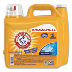 Dual HE Clean-Burst Liquid Laundry Detergent, 213 oz Bottle, 2/Carton