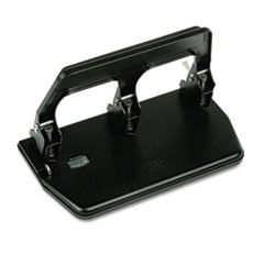 40-Sheet Heavy-Duty Three-Hole Punch, 9/32