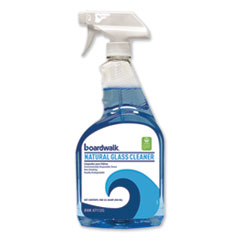 Natural Glass Cleaner, 32 oz Spray Trigger Bottle