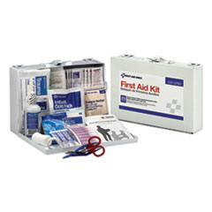 1First Aid Kit for 25 People, 106-Pieces, OSHA Compliant, Metal Case