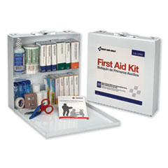 1First Aid Station for 50 People, 196-Pieces, OSHA Compliant, Metal Case