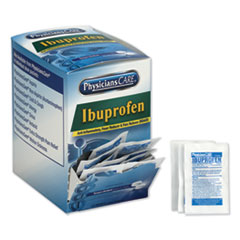Ibuprofen Pain Reliever, Two-Pack, 125 Packs/Box