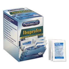 Ibuprofen Medication, Two-Pack, 200mg, 50 Packs/Box