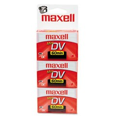 Premium Grade Mini DV Video Cassette, 60 Minutes