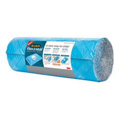 "Flex and Seal Shipping Roll, 15"" x 20 ft, Blue/Gray"