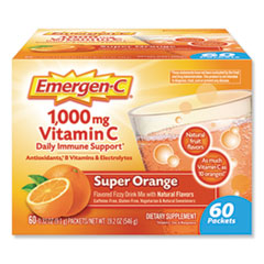 Immune Defense Drink Mix, Original Formula, Super Orange, 0.32 oz Packet, 60/Pack