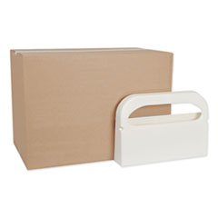 Toilet Seat Cover Dispenser, 16 x 3 x 11.5, White, 12/Carton