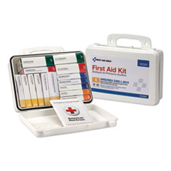 Unitized ANSI Class A Weatherproof First Aid Kit for 25 People, 16 Units