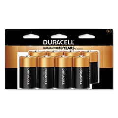 CopperTop Alkaline D Batteries, 8/Pack