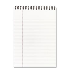 Top Bound Ruled Meeting Notebook, Legal Rule, 8 1/2 x 11, 96 Sheets