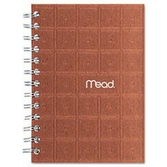 Recycled Notebook, College Ruled, 5 x 7, 80 Sheets, Perforated, Assorted