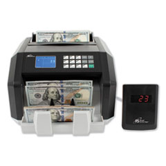 Back Load Bill Counter w/ Value Counting/Counterfeit Detection, 1400 Bills/Min
