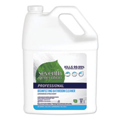 Disinfecting Bathroom Cleaner, Lemongrass Citrus, 1 gal Bottle