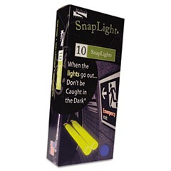 "Snaplights, 6""l x 3/4""w, Blue, 10/Box"