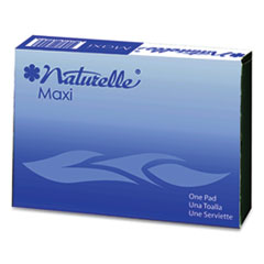 Naturelle Maxi Pads, #4 For Vending Machines, 250 Individually Wrapped/Carton