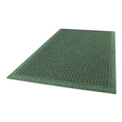 EcoGuard Indoor/Outdoor Wiper Mat, Rubber, 36 x 60, Charcoal