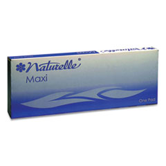 Naturelle Maxi Pads, #8 Ultra Thin, 250 Individually Wrapped/Carton