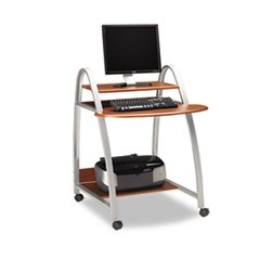 Eastwinds Arch Computer Cart, 31-1/2w x 34-1/2d x 37h, Medium Cherry