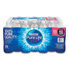 Pure Life Purified Water, 16.9 oz Bottle, 35 Bottles/Carton