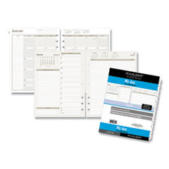 Two-Pages-Per-Day Planning Pages Refill, 11 x 8.5, 2021