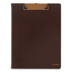 Signature Collection Monthly Clipfolio, 11 x 8 1/2, Distressed Brown, 2020