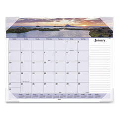 Images of the Sea Monthly Desk Pad Calendar, 22 x 17, 2020
