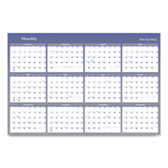Vertical/Horizontal Erasable Wall Planner, 32 x 48, 2020