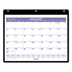 Monthly Desk/Wall Calendar, 11 x 8 1/4, White, 2020