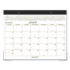 Two-Color Desk Pad, 22 x 17, 2020
