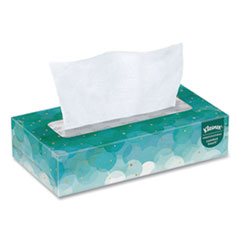 White Facial Tissue, 2-Ply, 100 Sheets/Box, 5 Boxes/Pack, 6 Packs/Carton