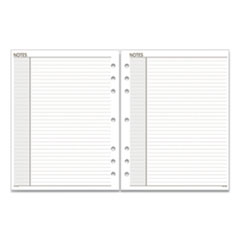 Lined Notes Pages, 11 x 8.5, White, 30/Pack