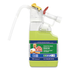Dilute 2 Go, Mr Clean Finished Floor Cleaner, Lemon Scent, 4.5 L Jug, 1/Carton