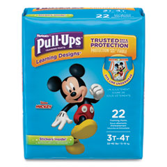 1Pull-Ups Learning Designs Potty Training Pants for Boys, Size 3T-4T, 22/Pack