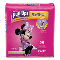 1Pull-Ups Learning Designs Potty Training Pants for Girls, Size 2T-3T, 25/Pack