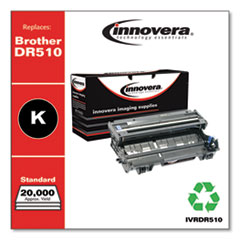 Remanufactured Black Drum Unit, Replacement for Brother DR510, 20,000 Page-Yield