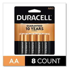 CopperTop Alkaline AA Batteries, 8/Pack