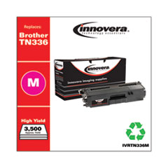 Remanufactured Magenta High-Yield Toner, Replacement for Brother TN336M, 3,500 Page-Yield