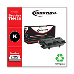 Remanufactured Black Toner, Replacement for Brother TN430, 3,000 Page-Yield