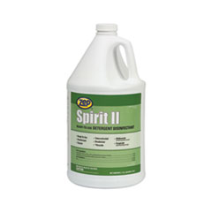 Spirit II Ready-to-Use Detergent Disinfectant, KILLS COVID, Citrus Scent, 1 gal Bottle, 4/Carton