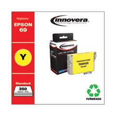 Remanufactured T069420 (69) Ink, 350 Page-Yield, Yellow