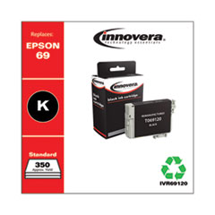Remanufactured T069120 (69) Ink, 465 Page-Yield, Black
