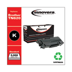 Remanufactured Black Toner, Replacement for Brother TN620, 3,000 Page-Yield
