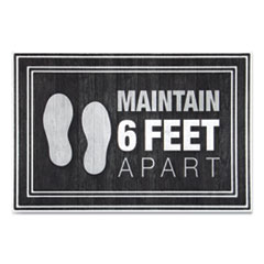 MAT,MAINTAIN 6 FEET,CCBK