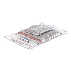Coin Bag ,14.5 x 25, 5 mil Thick, Plastic, Clear, 50/Pack